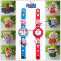 Relógio Infantil Da Peppa Pig E Do George Pig