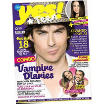 Revista Yes!teen #65 Ian Somerhalder = Nova Vampire Diaries!