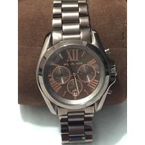 Relógio Michael Kors Mk6247 Chocolate - Não É Réplica