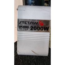 Stetsom Spl 2000 Amplificador Modulo Potencia 2 Canais