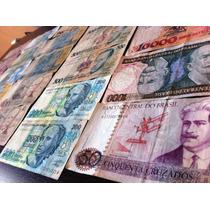 Cedulas Antigas Brasileiras (moedas Fichas Antiguidades)