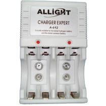 Carregador Allight P/ Pilhas Rec Aa/aaa E Bateria 9v Bivolt