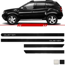 Jogo Friso Lateral Duster 2010 2011 2012 2013 2014