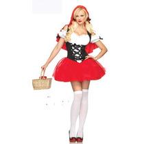 Fantasia Adulta Feminina Chapeuzinho Vermelho Carnaval!