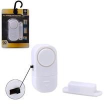 Alarme Sensor Magnético S- Fio Residencial Porta Janela 6533