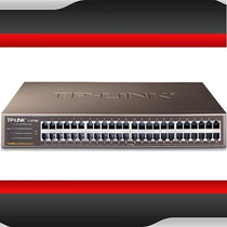 Switch Montavel Em Rack De 48 Portas 10/100mbps Tl-sf1048