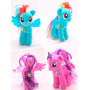 2 Bonecas Pelúcia My Little Pony Grande 30cm Original Ty