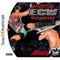 Hardcore Ecw Revolution - Sega Dreamcast Original Seminovo!