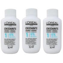 Loreal Oxidante Creme 6% Para Cover 5 / Coloração 3x75ml