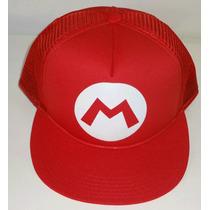 Bone Trucker Tela Aba Reta Super Mario Bros Nintendo