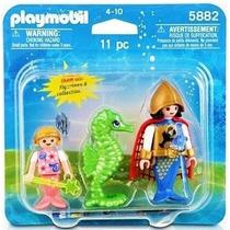 5882 Playmobil Duo Pack Soldado Sereia Com Pequena Sereia...