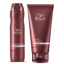 Wella Color Recharge Shampoo 250ml + Condicionador 200ml