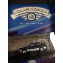 Miniatura Carros Inesqueciveis Edição 58 Volkswagen Gol Gti