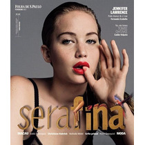 Revista Capa Jennifer Lawrence Rara = Serafina Jogos Vorazes