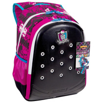 Kit Mochila Costas + Lancheira Monster High Zoops - Sestini