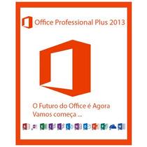 Office Professional Plus 2013 Para 5 Pc´s Online E Perpétua!