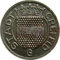 Alemanha / Crefeld - 10 Pfennig 1919 (kriegsgeld)