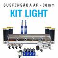 Suspensão Ar Cilindro Aluminio +bolsa Conica+bloco 8em1