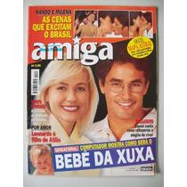Revista Amiga - Claudia Liz,xuxa,carla Perez,daniel,marcos F