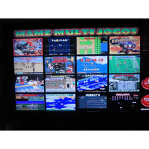 Matriz Super Multi 16x1 Com 16 Jogos De Fliperama