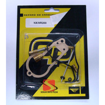 Kit Reparo Carburador Xr200, Nx200, Cbx200 Serjaomotopecas