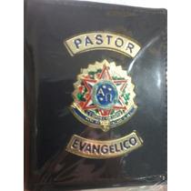 Carteira Autoridade Eclesiastica Pastor Couro Legitimo