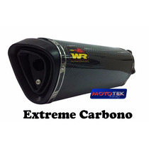 Escapamento Ponteira Wr Extreme Fibra Carbono Kawasaki Z750