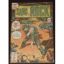 O Herói Nº 4 (2ª Série) - Sarg Rock - Ebal - 1978
