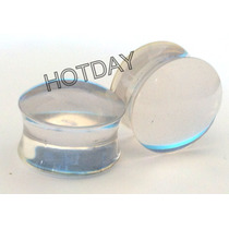 Alargador Plug Transparente 12mm 14mm 16mm 18mm 20mm - Par