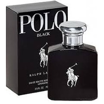 Perfume Polo Black 100ml -edt 125ml Pronta Entrega Original