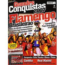 Revista Flamengo Raríssima C/ 2 Pôsters Conquistas + Torcida