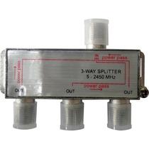 Divisor 1x3 P/ Lnbf Multiponto Alta Frequência 5-2450 Mhz