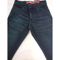 Calça Jeans Skinny Com Lycra Masculina