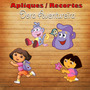 Aplique / Recorte - Dora Aventureira