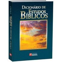 Dicionário De Estudos Bíblico - Lacrado Na Embalagem