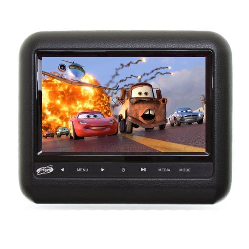 Encosto De Cabeça H - tech Acoplar 7 Pol Com Dvd