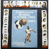 Album Figurinhas Copa Mundo Chile 1962 Novo Figurinhas Colar
