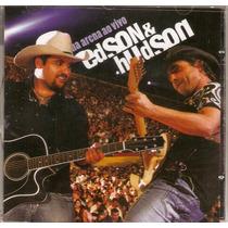 Cd Edson & Hudson - Na Arena Ao Vivo - Novo***