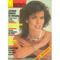 Manchete - 1983 - Miss Universo E Brasil / Volei Feminino