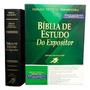 Bíblia De Estudo Do Expositor - Preta Frete Grátis