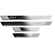 Kit De Soleiras Inóx Golf Gti 2.0 Tsi Golf 1.4 Tsi Mk7