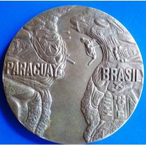 Itaipú-abertura Das Comportas-medalha Bronze-casa Moeda-1978