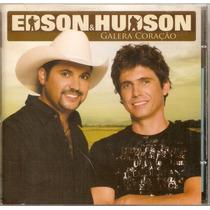 Cd Edson & Hudson - Galera Coração - Novo***