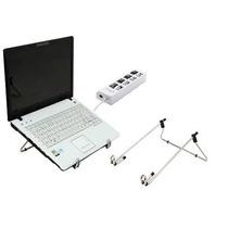 Suporte Notebook Netbook E Hub Usb 4 Portas 2.0 Velocidade