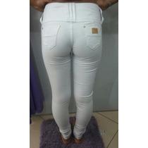 Calça Jeans Branca Ri19 *original* + Brinde