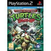 Tartarugas Ninja Smash Up Ps2 Patch - Frete Grátis
