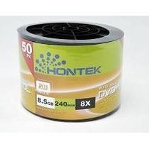 Mídia Virgem Hontek Printable 50 Dvd-r Dl 8.5 8x Umedisc