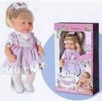 Boneca Marcelle 20 Frases - Milk Brinquedos