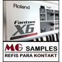 Samples Roland Fanton X8 Para Kontakt + Coletanea Teclados