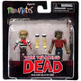 Minimates The Walking Dead Sailor Zombie & Leg Bite Zombie